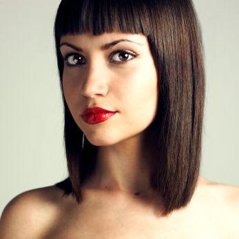 Frisuren Frauen Schulterlang Braun